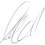 Illustration der Unterschrift von Marcel Schrepel